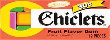 where to buy chiclets gum chiclets fruit flavored gum 20 12pks candyretailer