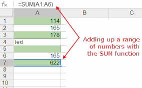 columns and rows in excel and google spreadsheets