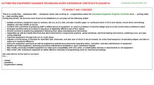 Resume Engineering Examples by Semiconductor Equipment Engineer Sample Resume 17 Good Engineering