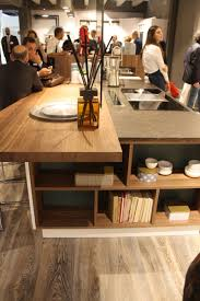 Adding A Kitchen Island by Wood Kitchen Cabinets Just One Way To Feature Natural Material