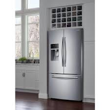 home depot water wall dishwasher black friday samsung 28 07 cu ft french door refrigerator in stainless steel