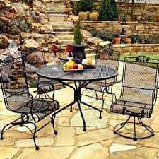 Antique Wrought Iron Patio Furniture by Antique Wrought Iron Garden Table And Chairs Antique Wrought Iron