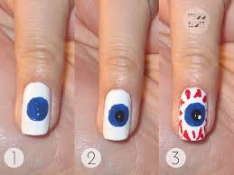 halloween nail art step by step step by gallery cupncakesgourmet