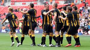 Fa Vase Results 2014 Non League Finals Day Halifax Town And Morpeth Town Cause Double