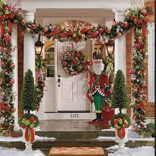 Christmas Fence Decorations Images Of Outdoor Christmas Fence Decorating Sc