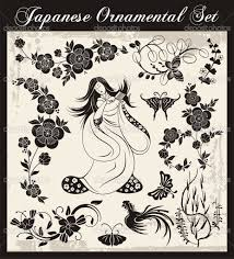 depositphotos 22438413 japanese traditional ornaments vector set