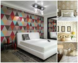 chambre peinte idée papier peint chambre comment faire le bon choix