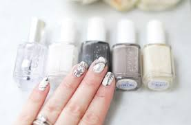 mani monday marble nails tutorial nail that accent