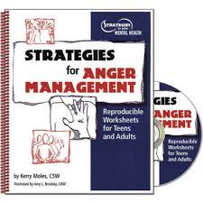 Conflict Resolution Worksheets For Kids Anger Management Conflict Resolution Strategies Workbook