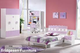 2018 mdf teenage princess kids bedroom furniture set with 2