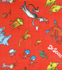 dr seuss wrapping paper licensed fleece fabric dr seuss icon joann