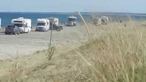 rvs on sandy neck beach in barnstable 10 11 15 youtube