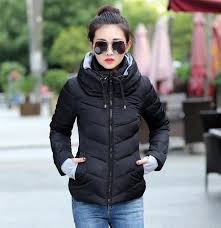 plus size light jacket plus size korean long sleeve warm light down padded winter jacket