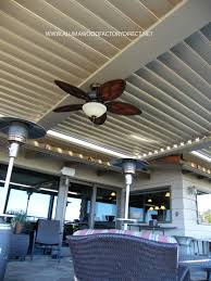 patio ideas louevered patio cover with wooden ceiling and