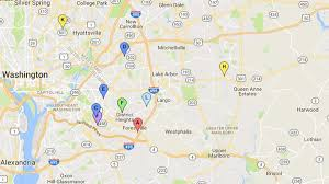 prince georges county map map 12 killed in prince george s county in 11 days nbc4