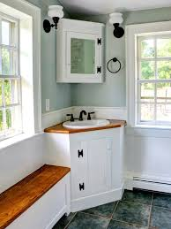 Small Sink Home Pinterest Great Idea For A Small Or Odd Shaped Spare Bathroom A Corner Sink