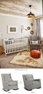 Upholstered Nursery Rocking Chair Land Of Nod Quincy Rocker Chair Copycatchic