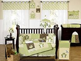 Frog Baby Bedding Crib Sets Yellow And Green Leap Frog Baby Boy Unisex