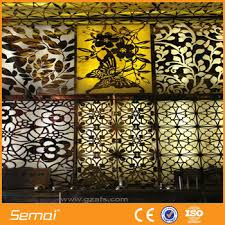 Aluminium & Stainless Steel Perforated Decorative Sheet Metal