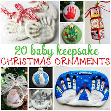 baby keepsake ornaments 20 ornaments for baby s christmas s bundle