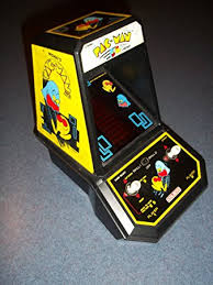 Table Top Arcade Games Amazon Com Pac Man Tabletop Arcade Game Other Products