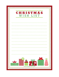 free printable letter to santa christmas wish list and tag