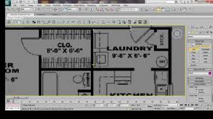 3ds max house modeling tutorial interior building model design