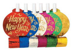 new year s noisemakers bulk new years party favor hats noisemakers bulk my paper shop