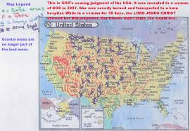 Map If The Usa by Map Of The Destruction Of The Usa