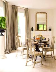 dining room curtain with window treatment ideas dining room dining