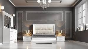 modern furniture bedroom sets carmen white modern italian bedroom set n contemporary