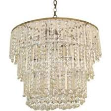 Oval Crystal Chandelier Downtown Los Angeles Ca 90069 1stdibs