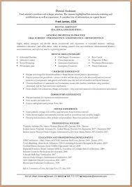 Dental Assistant Resumes 8 Dental Assistant Resume Worker Resume