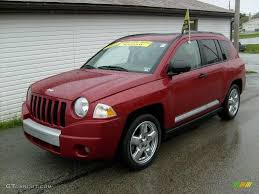 jeep compass limited 2008 inferno red crystal pearl jeep compass limited 4x4 19759217