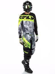 fly motocross goggles fly racing black grey hi viz 2017 kinetic crux mx pant fly