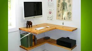 Wall Mounted Desk Diy Desks Diy Floating Corner Desk Desks Office Desk To Save Space