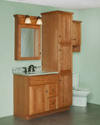 bathroom vanity and cabinet sets mission style linen cabinet springhill vanity and linen ensemble