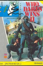 Last Poster Wins Ii New - who dares wins ii 1986 amstrad cpc box cover art mobygames
