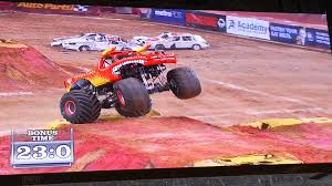 monster truck jam videos youtube el toro loco monster jam monster truck 2013 freestyle arlington