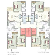 f 559 quadplex house plans multi family 5594 unit apartment