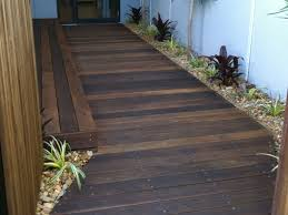 home timber flooring pine and backyard