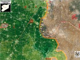 Beirut On Map Latest Battlefield Update From Southern Aleppo Map