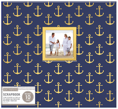 12x12 scrapbook albums k company 12 x 12 in scrapbook window album nautical