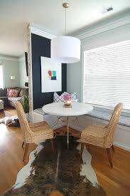 Living Room And Dining Room Together by Cafe Style Dining Room Reveal Simple Stylings