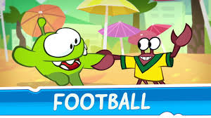 om nom stories around the world football