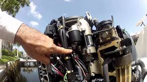 yamaha outboard starter troubleshooting and replacement youtube