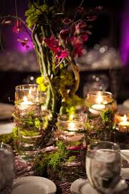 Quinceanera Table Centerpieces Enchanted Forest Wedding Theme Decorations 2813
