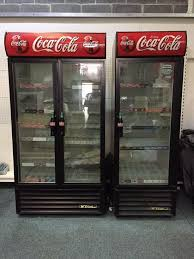 siege coca cola coke coca cola commercial single upright glass door display