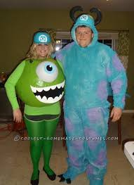 sully costume awesome mike and sully monsters inc couples costume