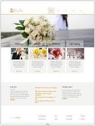 wedding planner websites 20 free wedding html5 css3 website templates web creative all